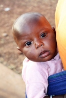Un bébé à Sanaba