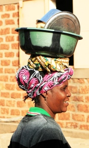 Femme du Burkina-Faso